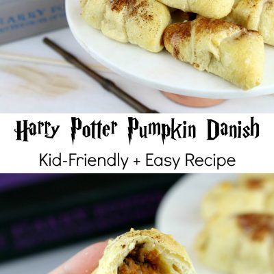 Harry Potter Inspired Pumpkin Danish