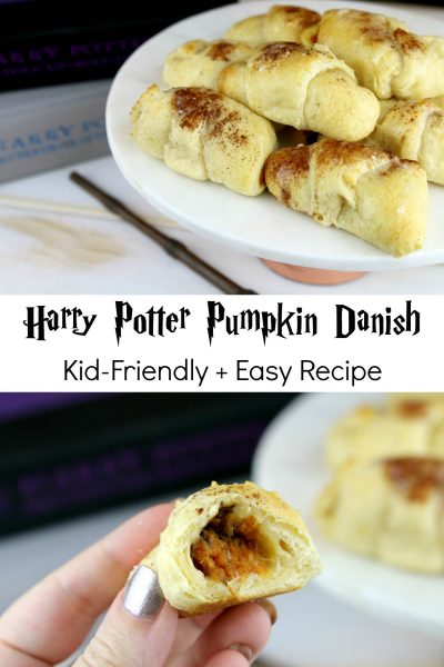 Harry Potter Pumpkin Danish