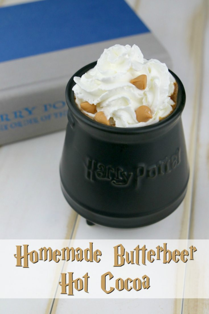 Homemade Butterbeer Hot Cocoa