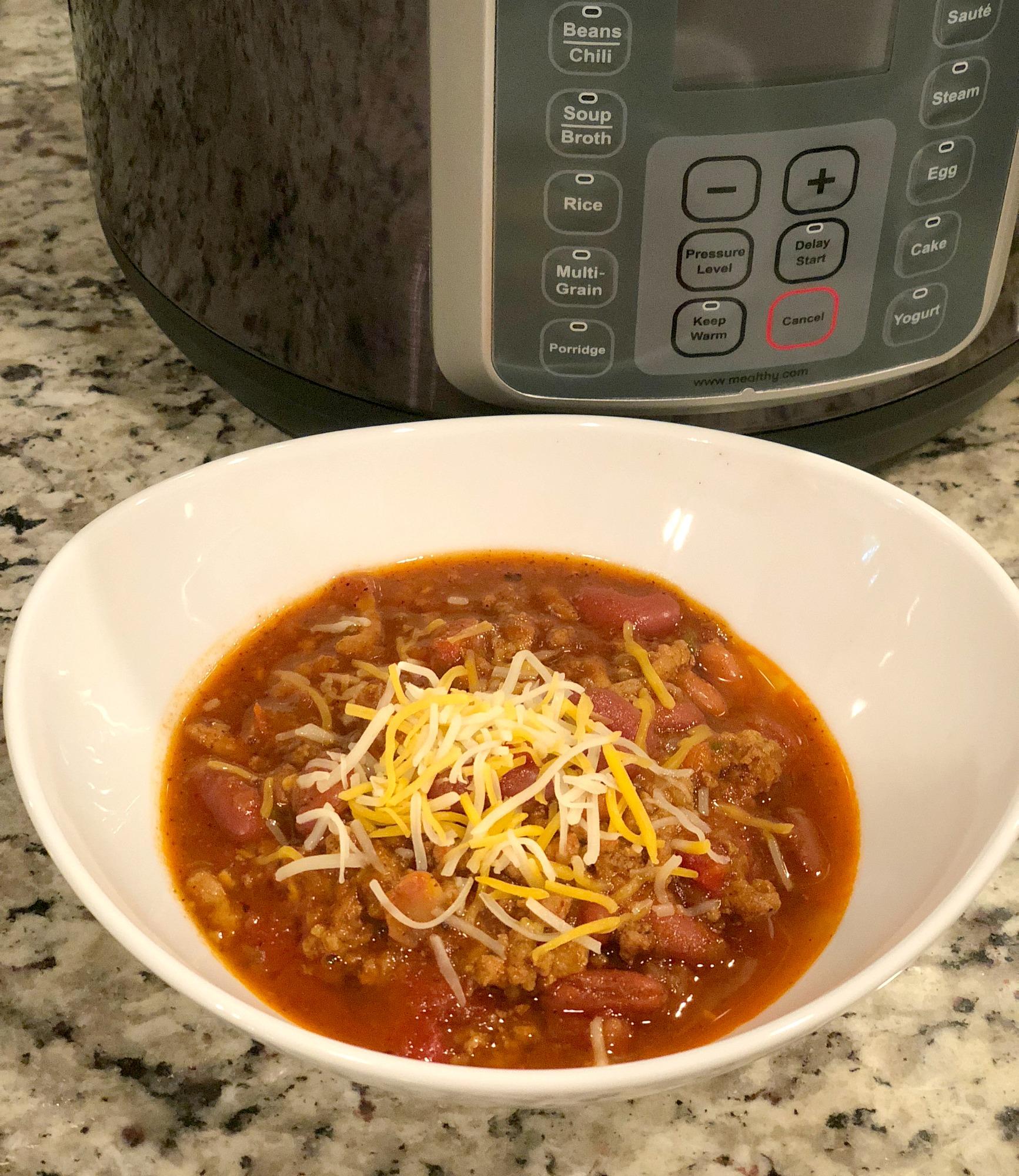 Pressure Cooker Chili Recipe