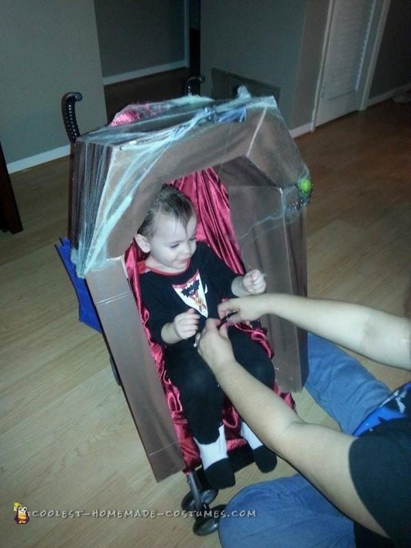 Vampire Baby Halloween Costume