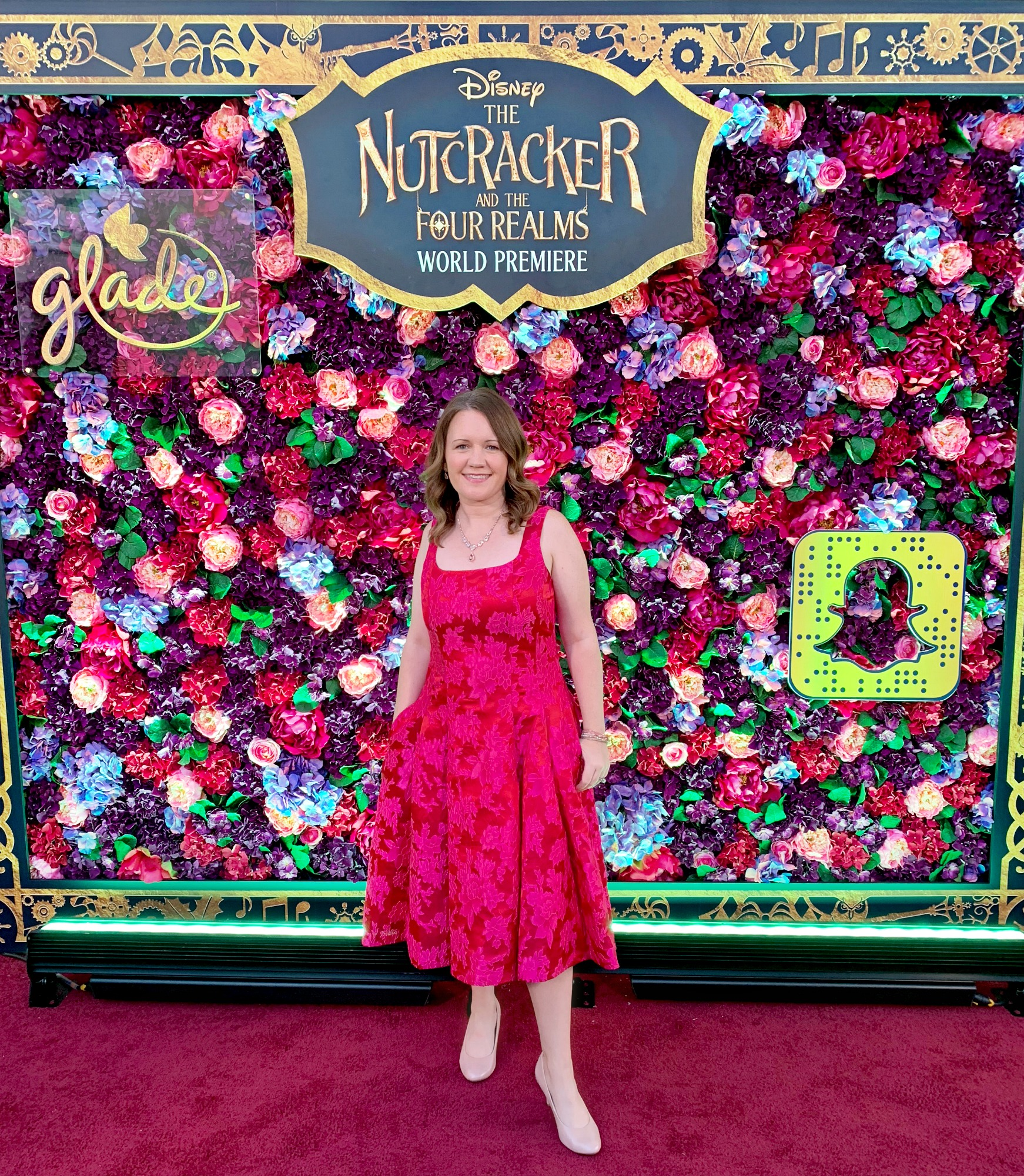 Dwan at Disney's Nutcracker and Four Realms World Premiere