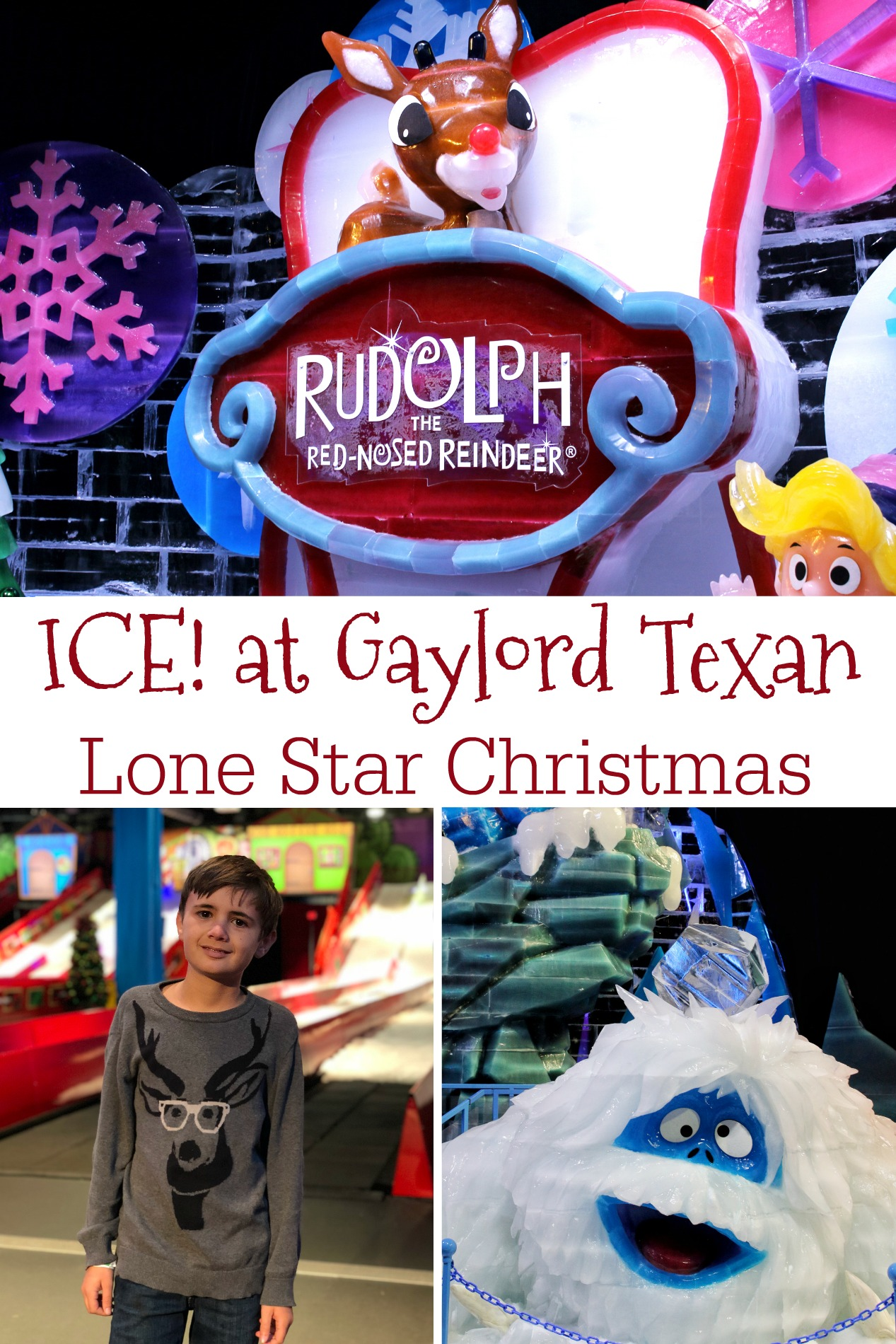 Ice at Gaylord Texan