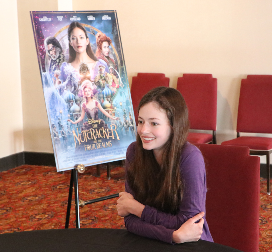Mackenzie Foy interview for Disney's Nutcracker