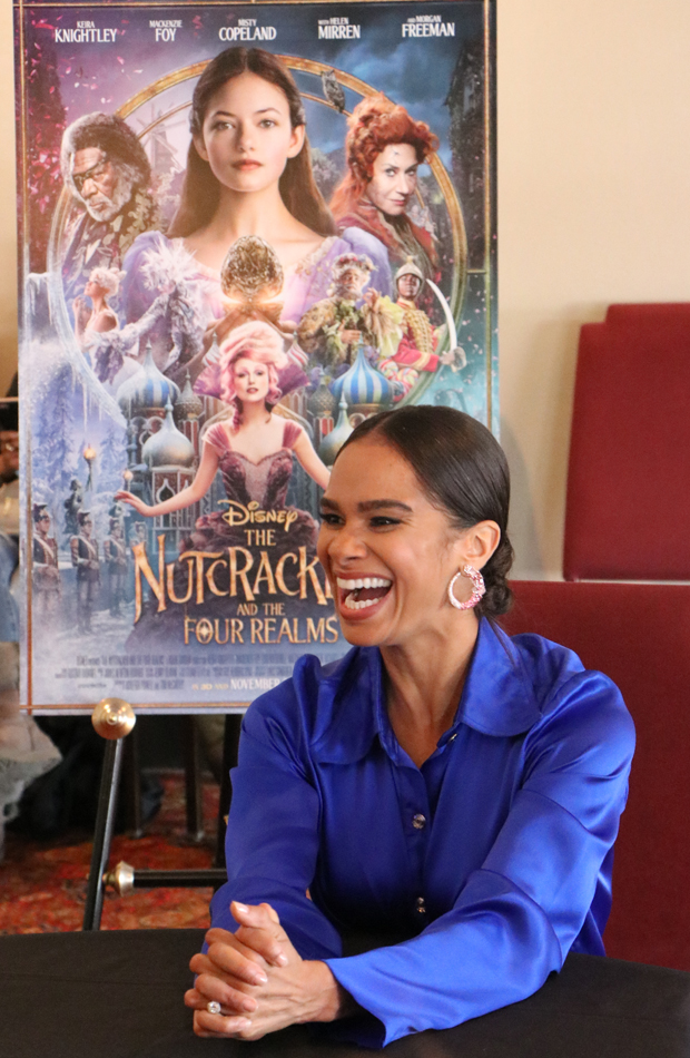 Misty Copeland in Disney's Nutcracker