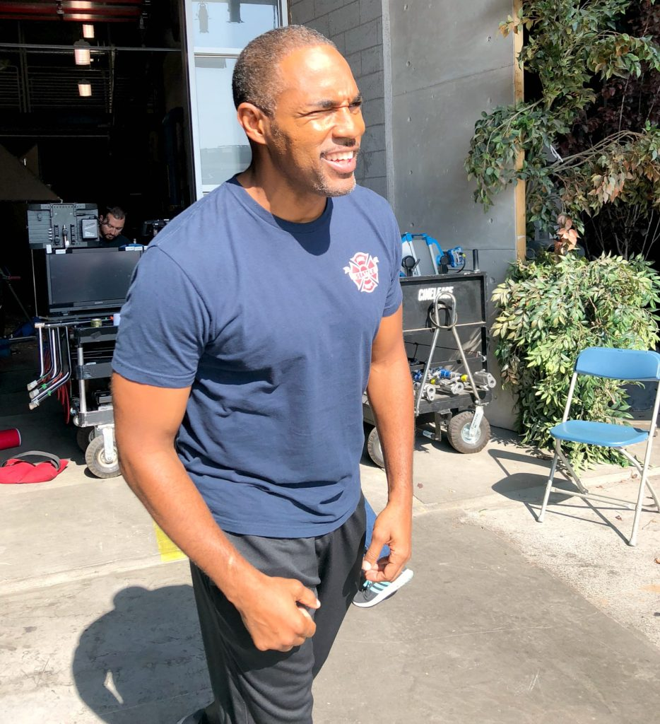 Station 19 Cast on Filming location