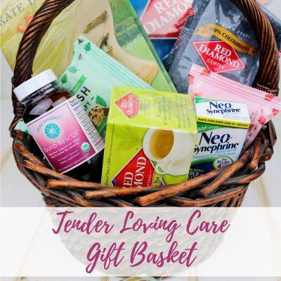 Tender Loving Care Gift Basket – Get Well Soon Care Package
