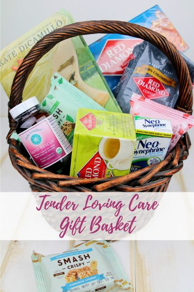 Tender Loving Care Gift Basket – Get Well Soon Care Package