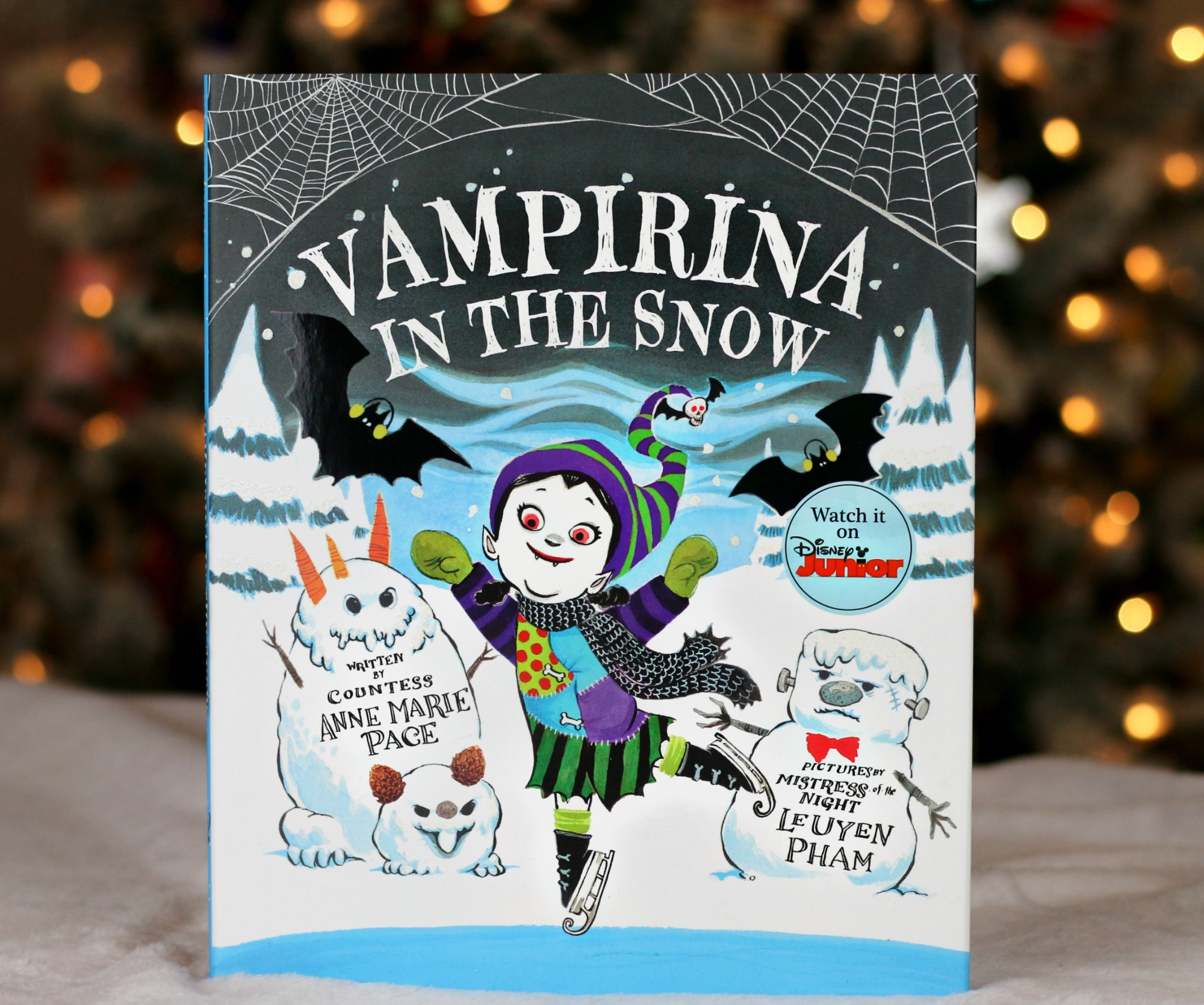 Vampirina in the Snow book for kids