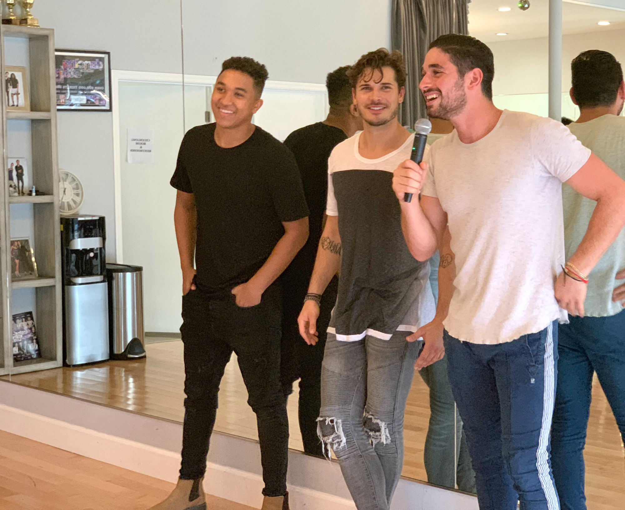 interview with DWTS Pros and DWTS Juniors mentors