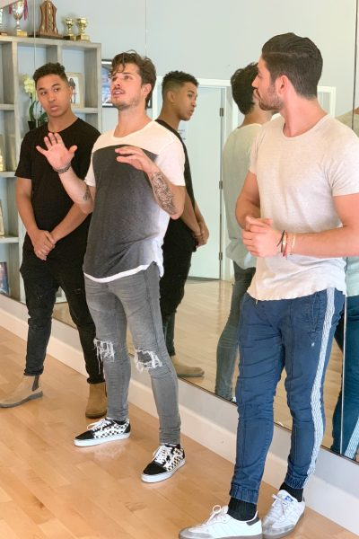 Interview DWTS Pros Brandon Armstrong, Alan Bersten and Gleb Savchenko