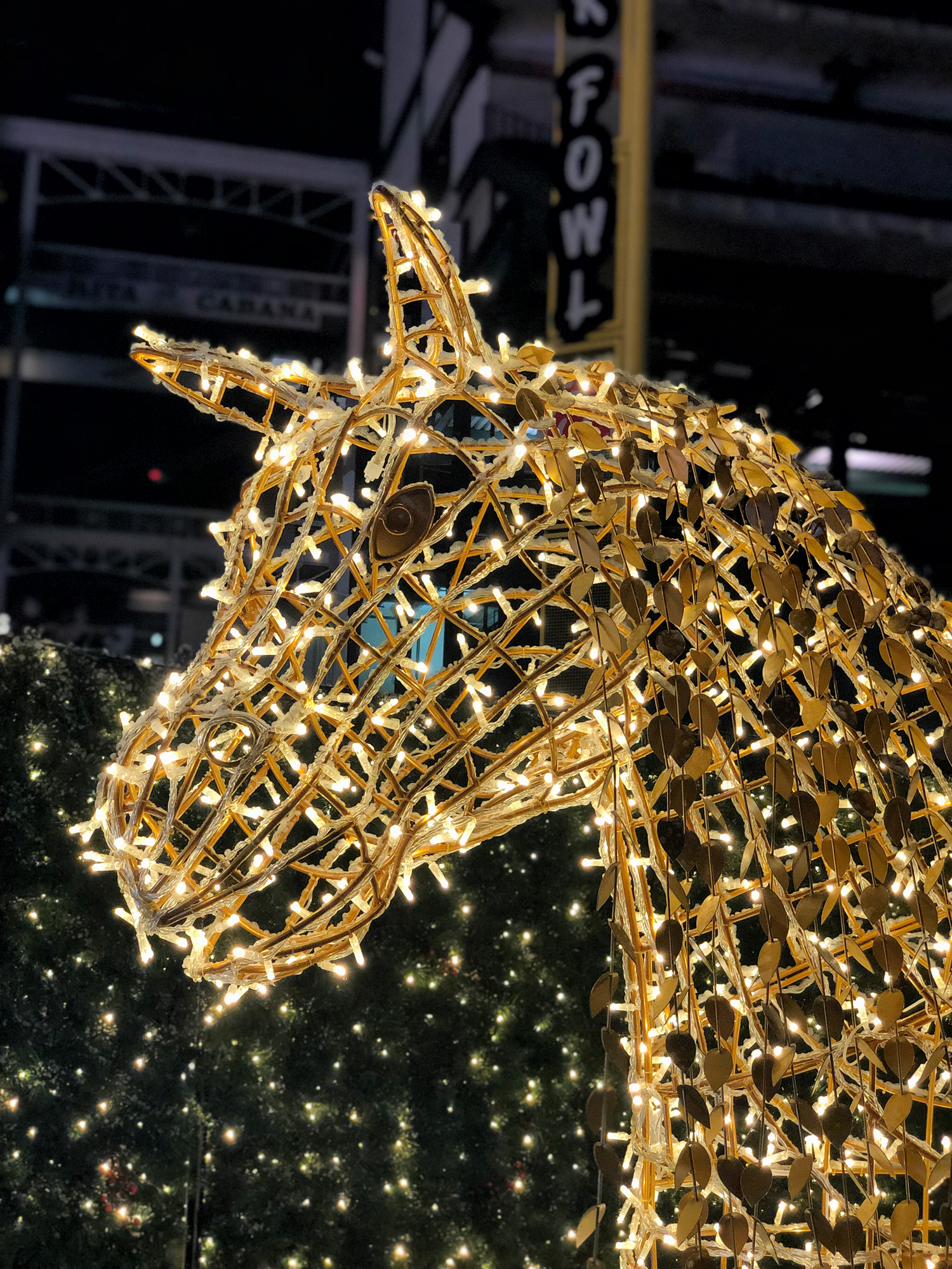 Toy Horse Christmas Light