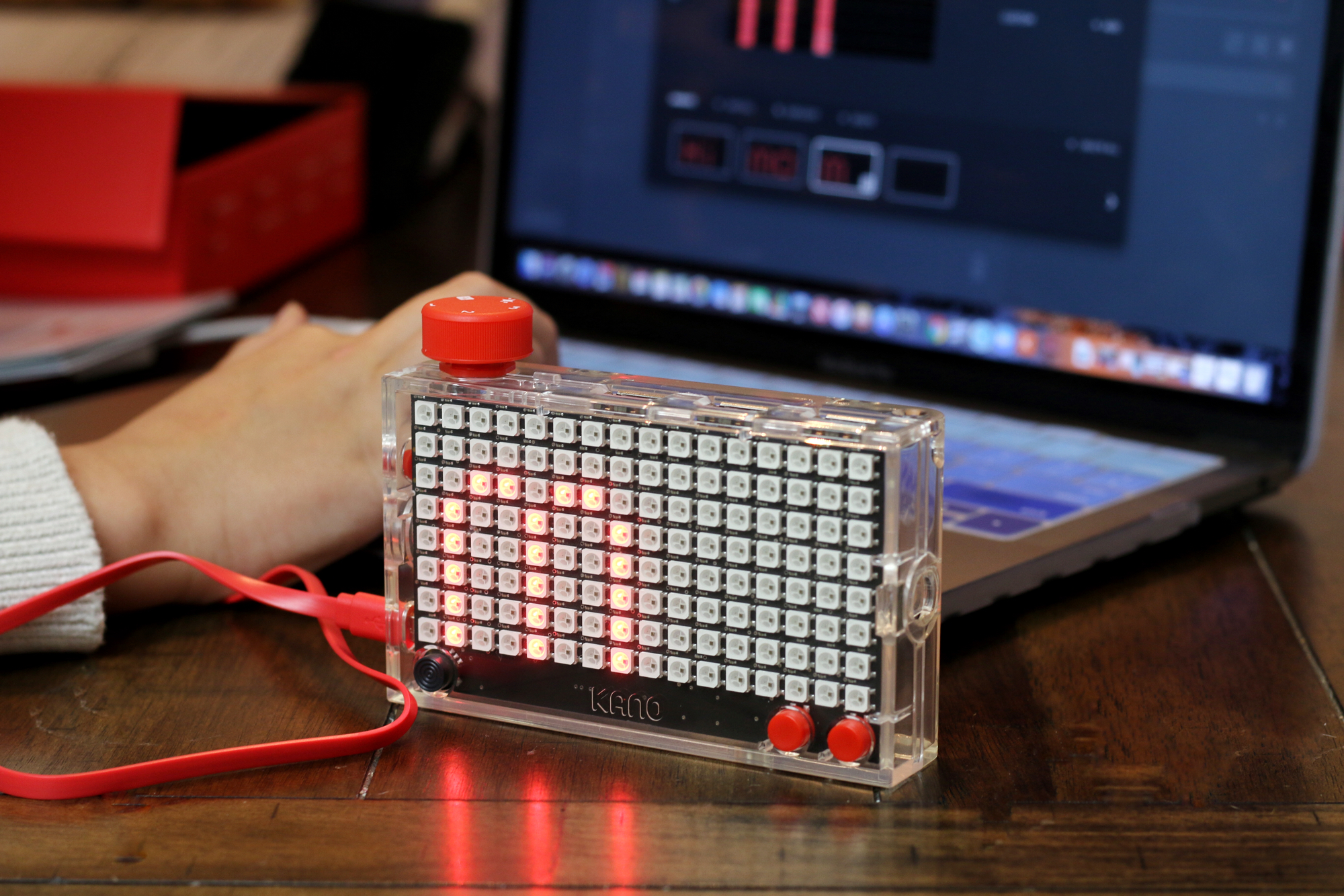 The Pixel Kit from Kano coding for kids