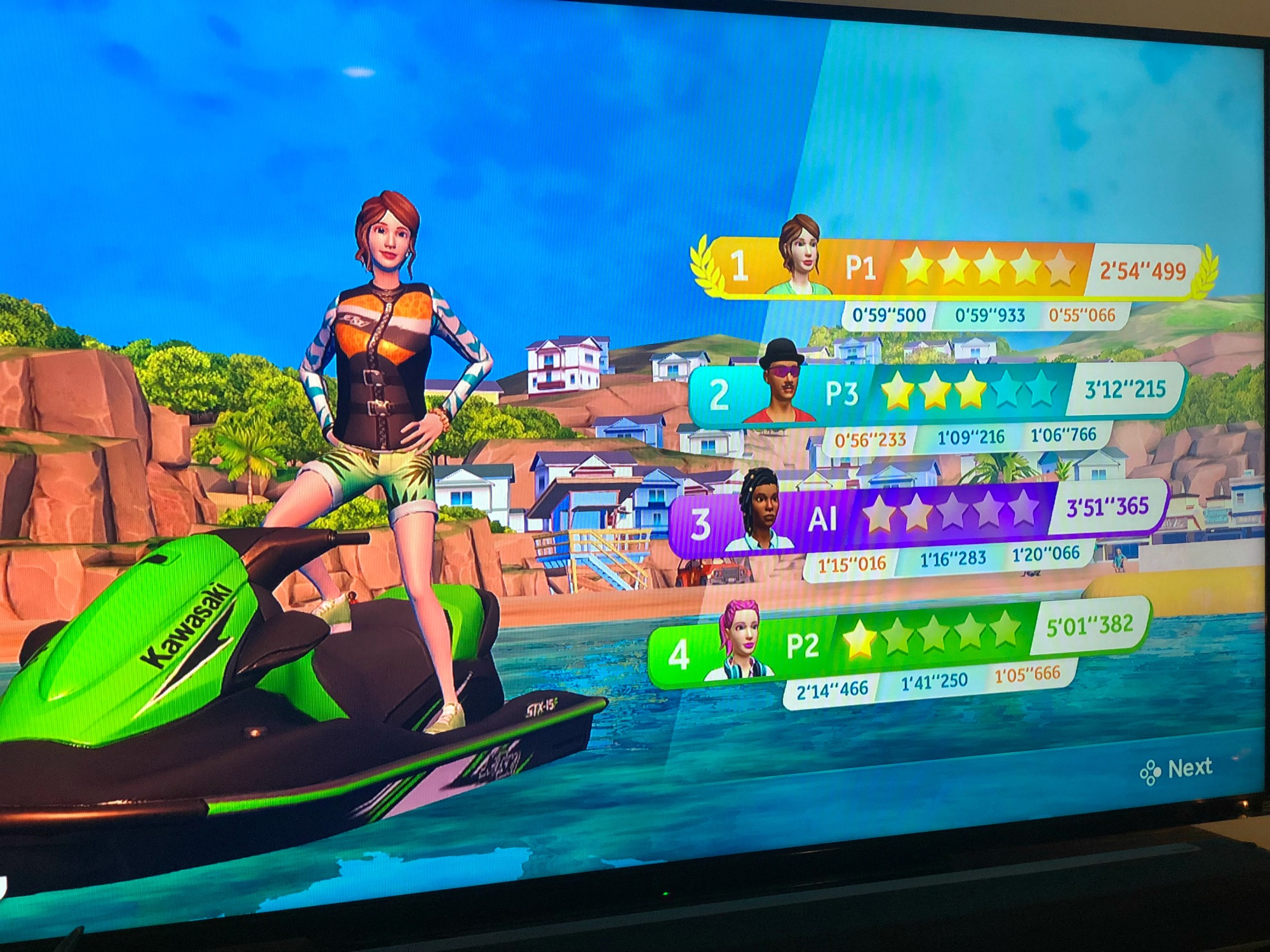 Nintendo Switch Sports Party Jetski Game
