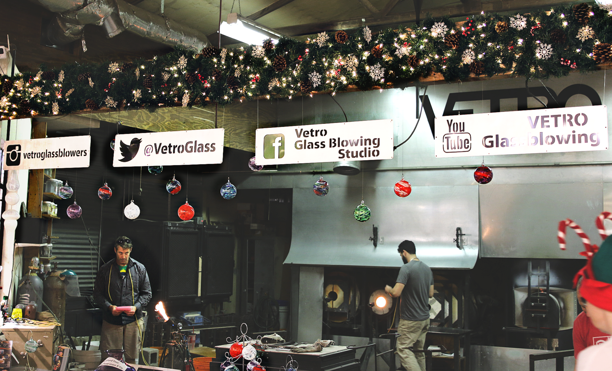 Vetro Glassblowing Studio