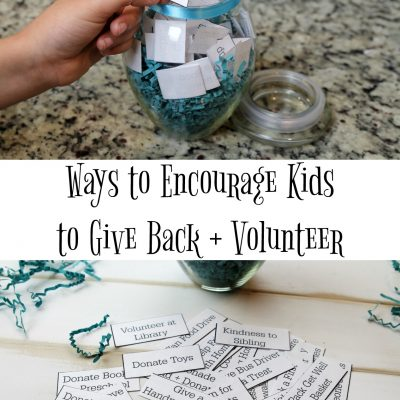 Encourage Your Kids to Give Back with a Giving Jar