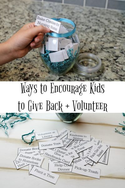 Ways to Encourage Kids to Give Back and Volunteer