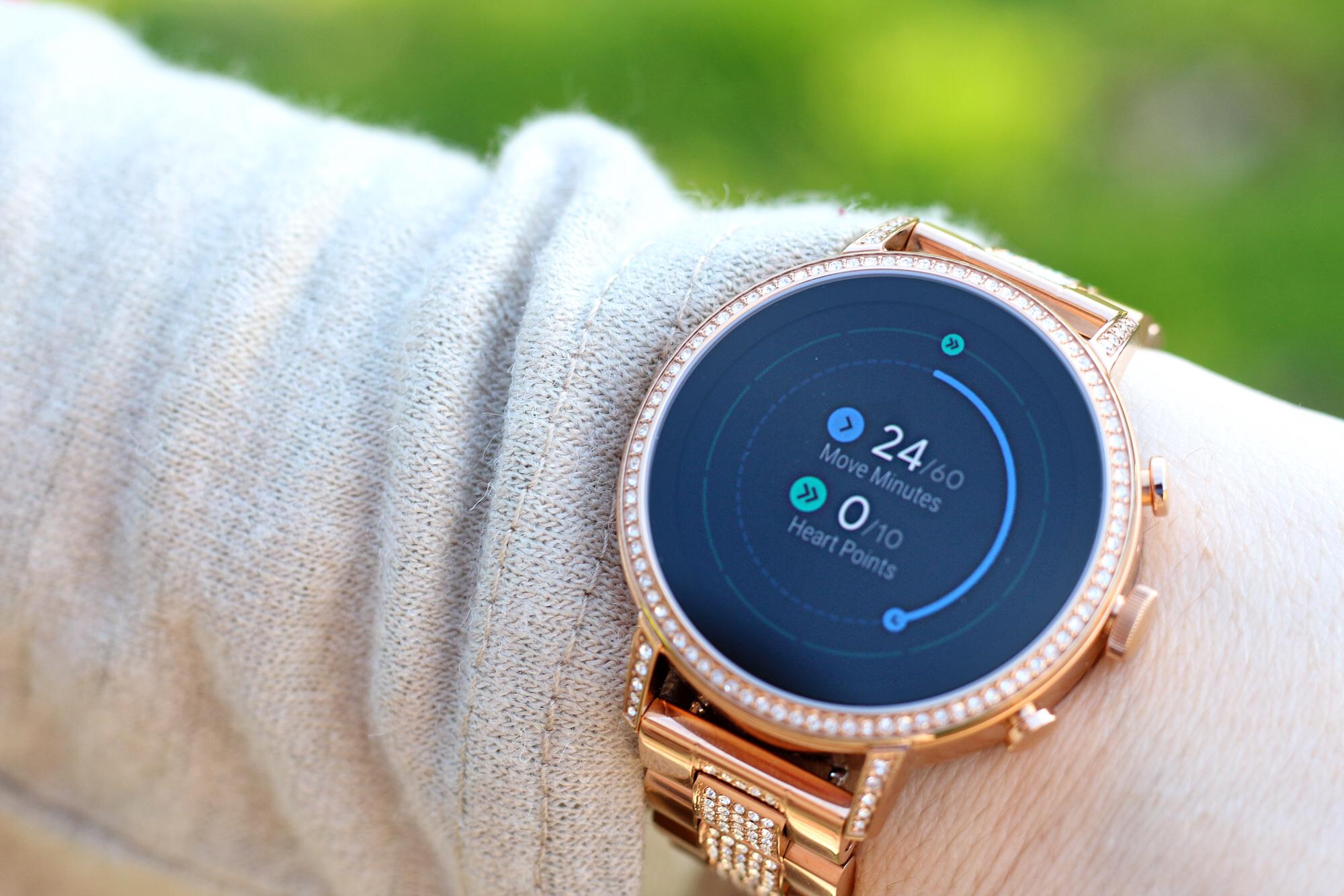 Google Fit on Venture HR Smartwatch