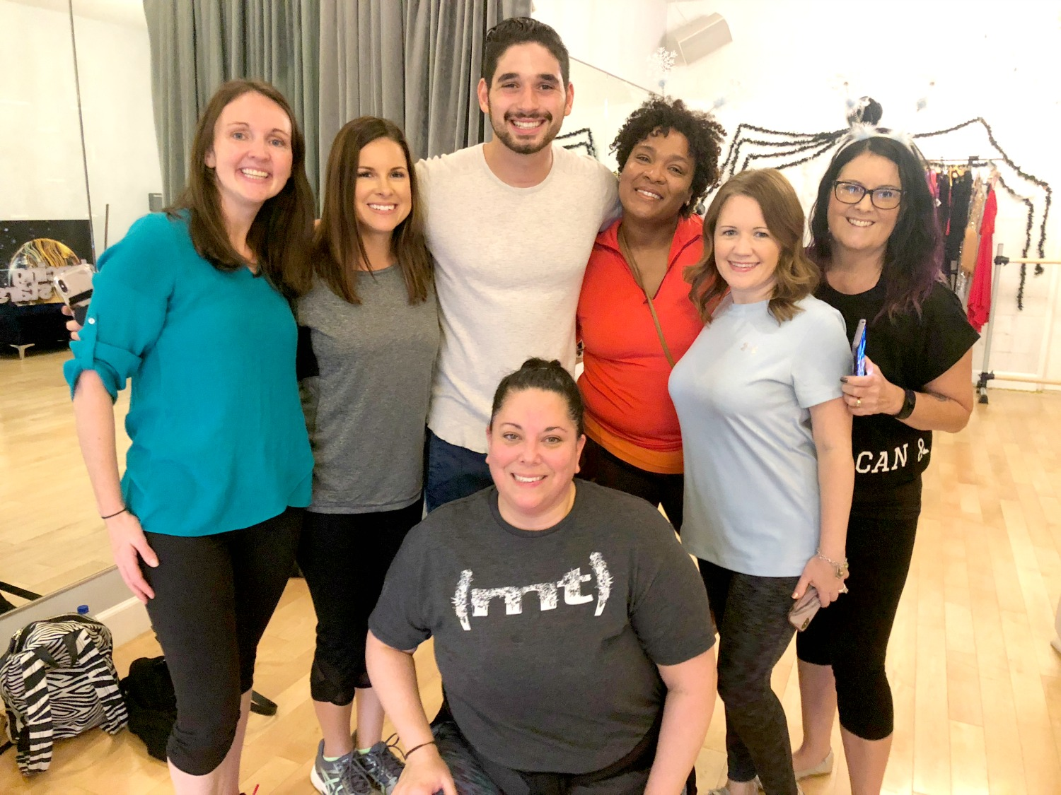 DWTS Dance Lesson Group