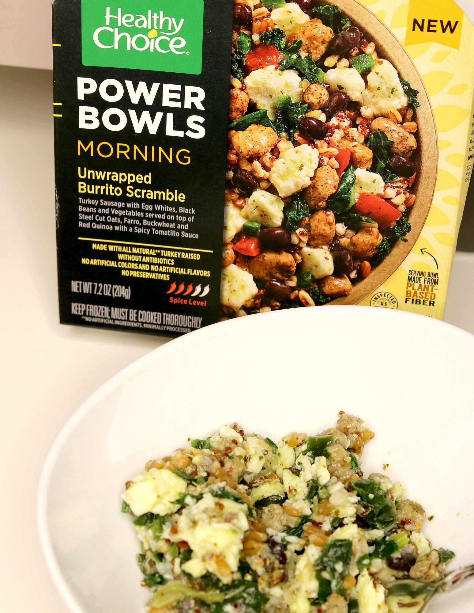 Healthy Choice Morning Power Bowls