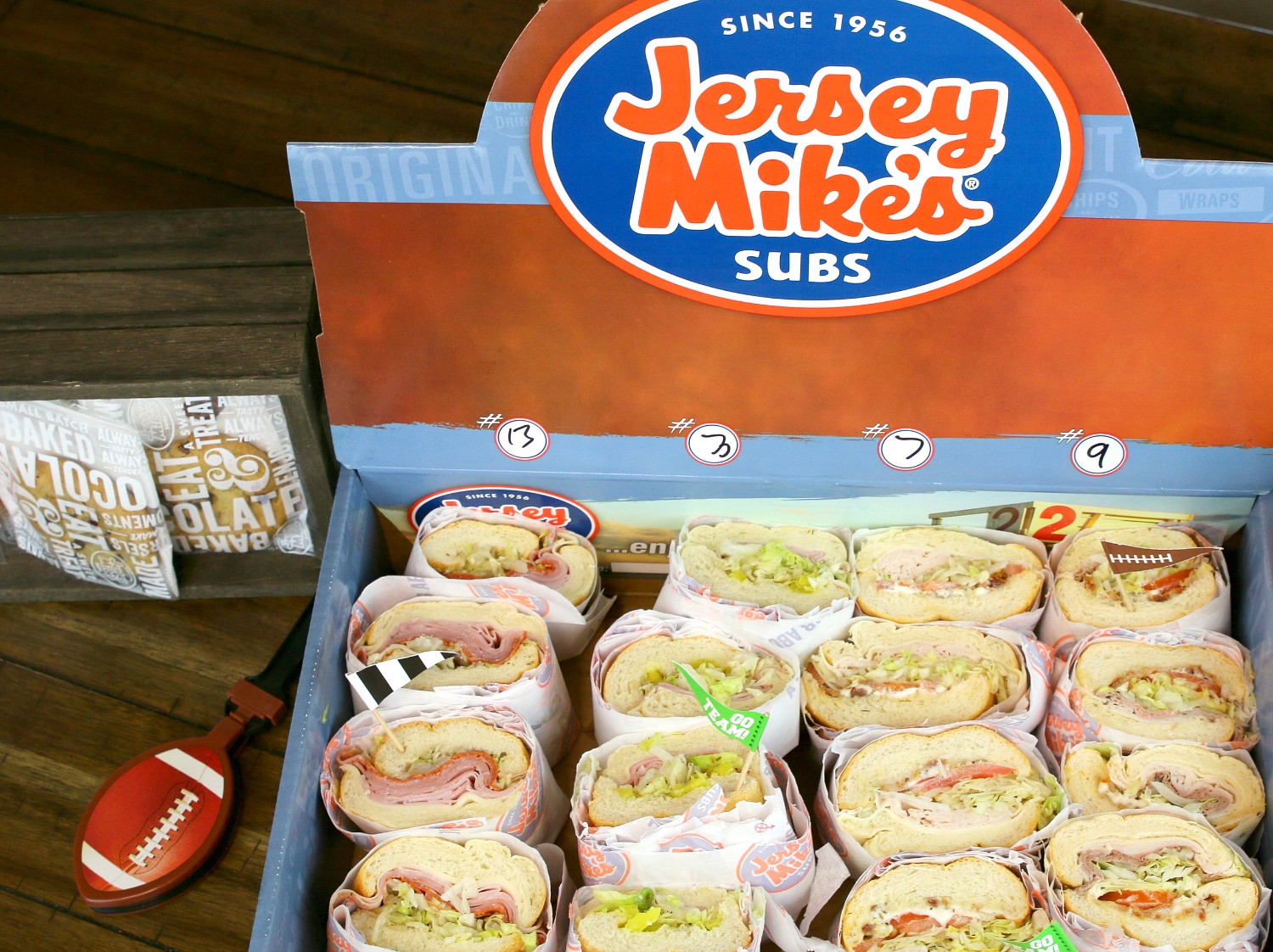 Jersey Mike's Subs catering box