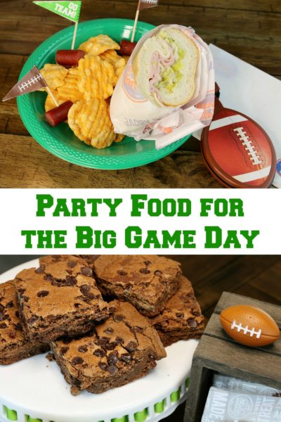 Party Food for the Big Game Day