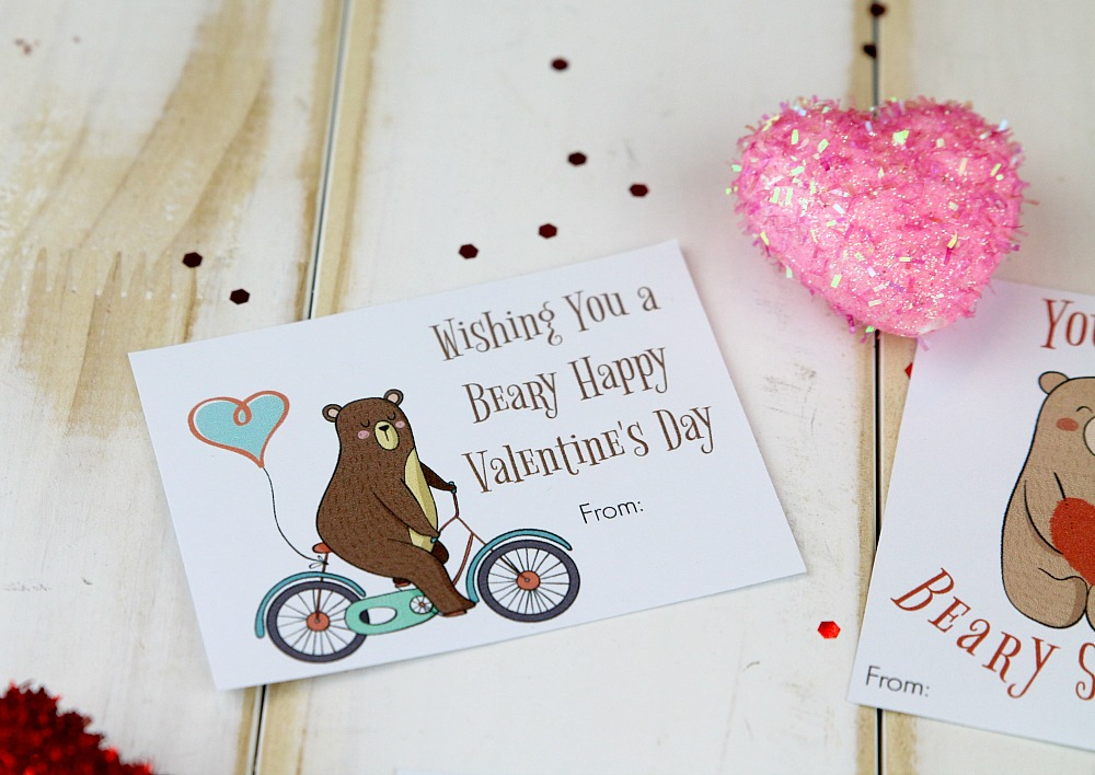 Wishing you a beary happy Valentine's Day
