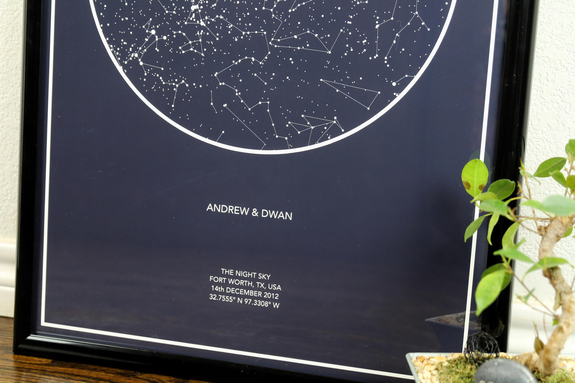 star print anniversary gift