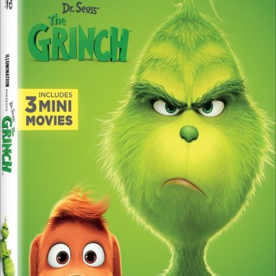 Take Home The Grinch on Bluray