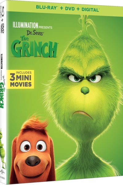 The Grinch on Bluray