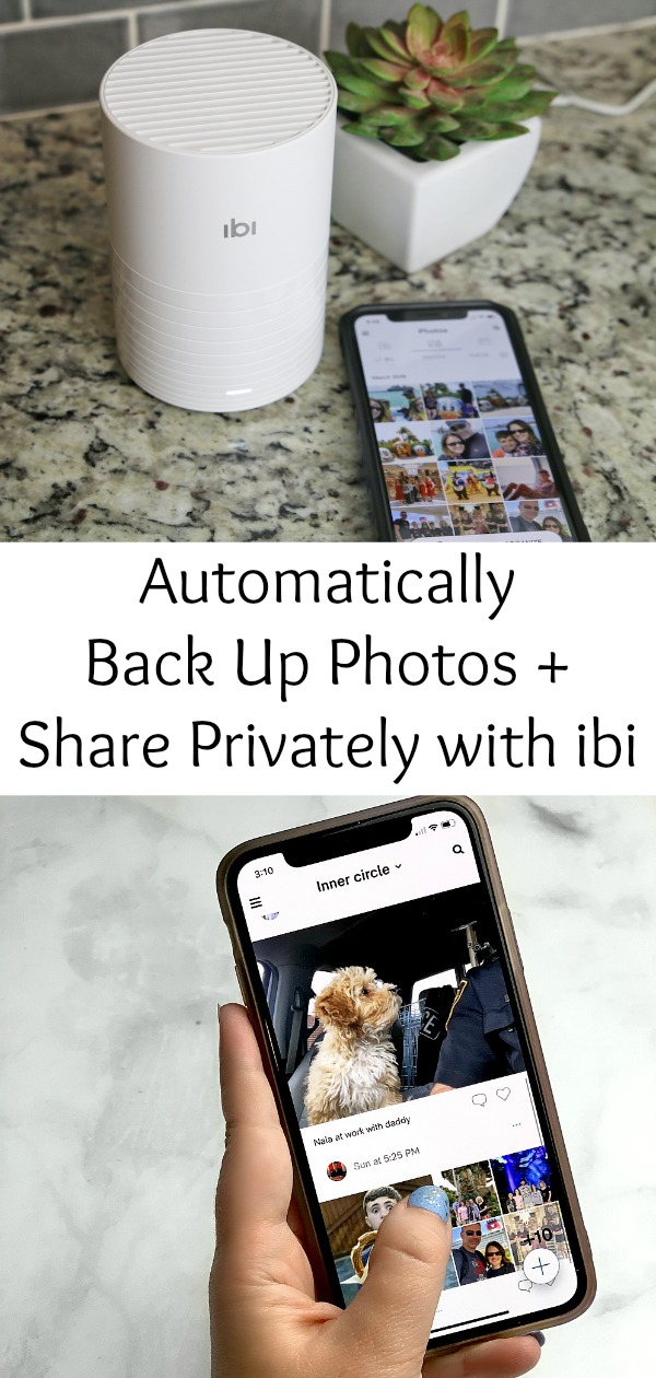 Automatically Back Up Photos with ibi