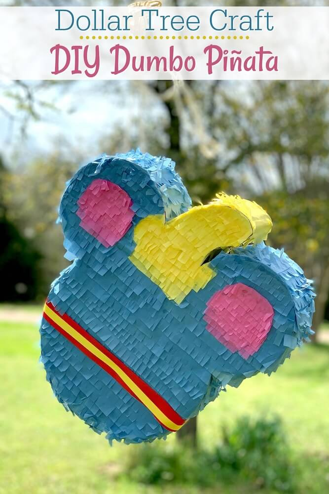 Dollar Tree DIY Dumbo Piñata