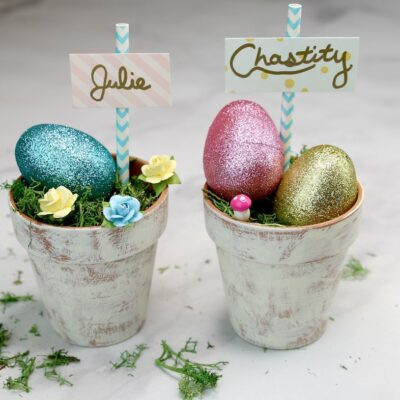 DIY Dollar Tree Farmhouse Easter Decor