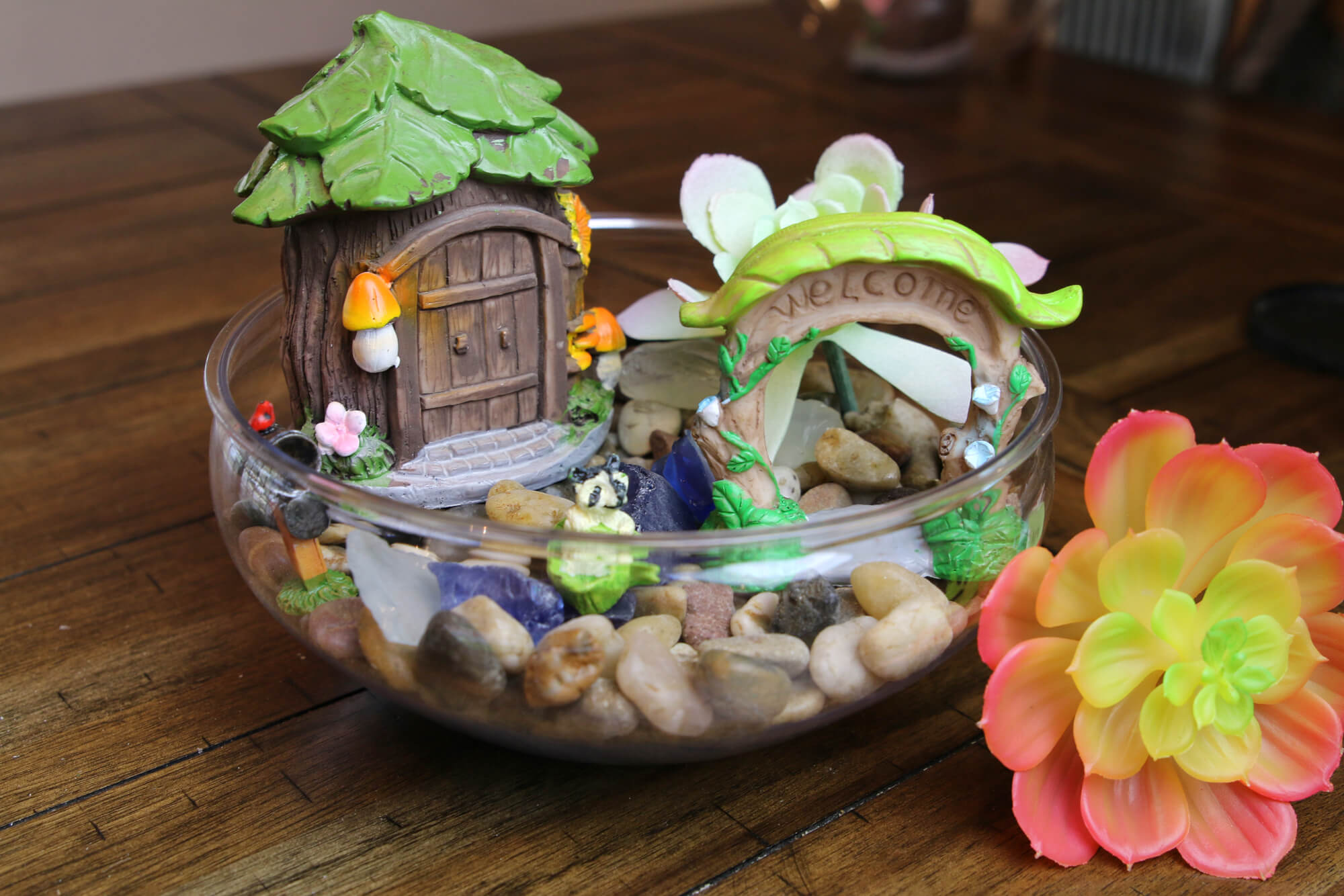 dollar tree diy fairy garden
