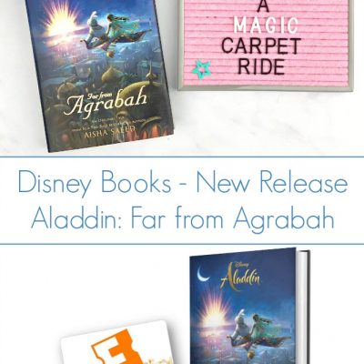 Go on a Magic Carpet Ride in Aladdin: Far from Agrabah – Disney Books