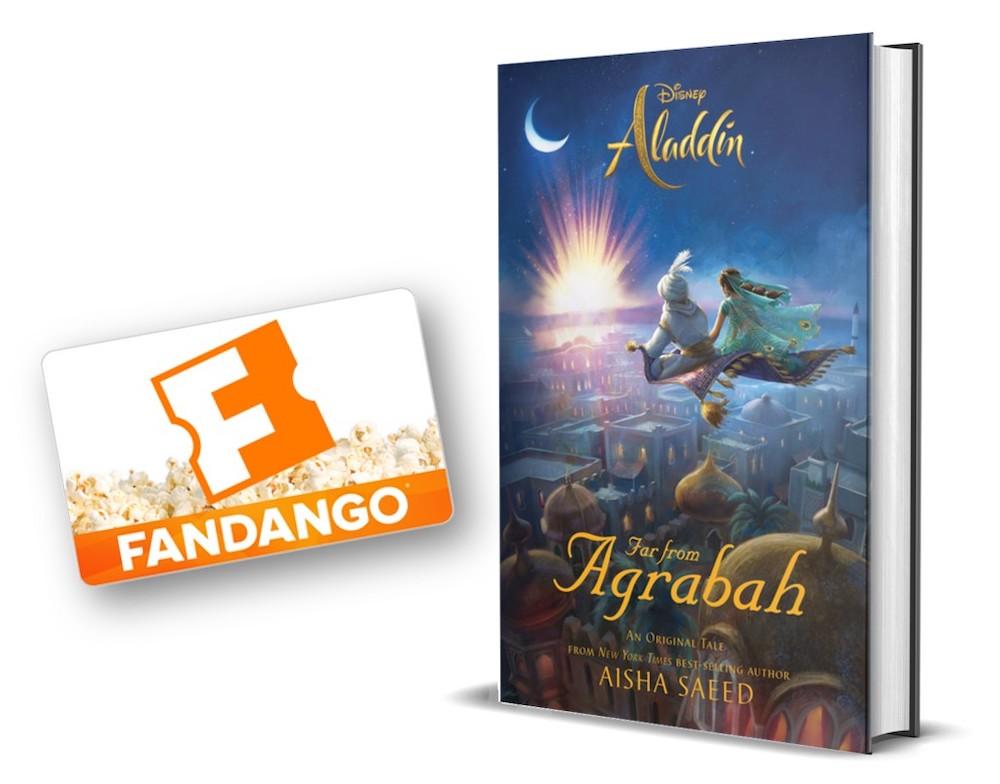 Aladdin Fandango giveaway