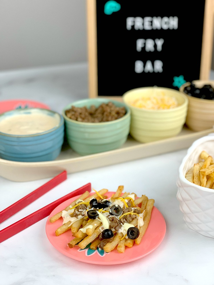 Loaded French Fry Bar