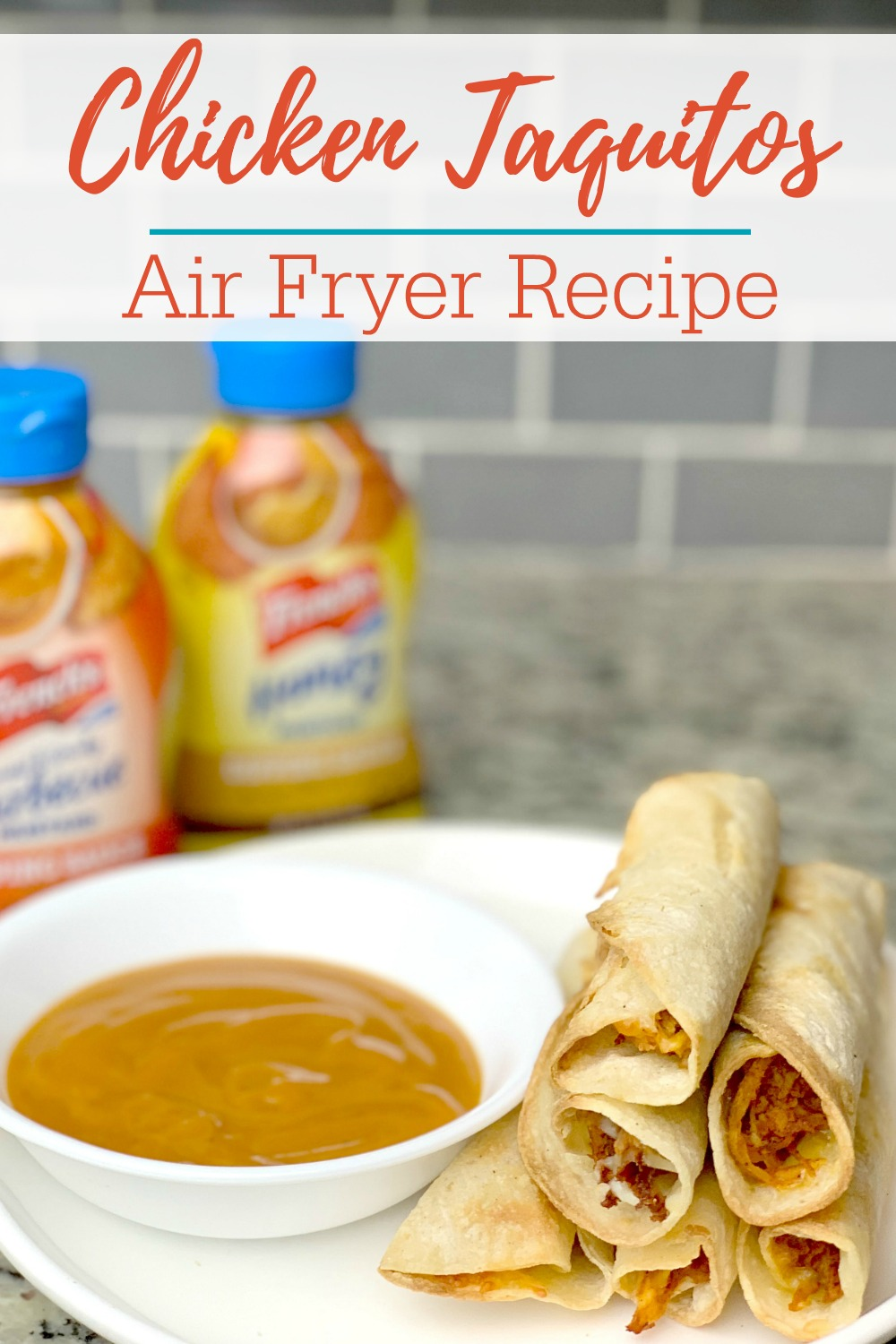 Homemade Air Fryer Chicken Taquitos Recipe
