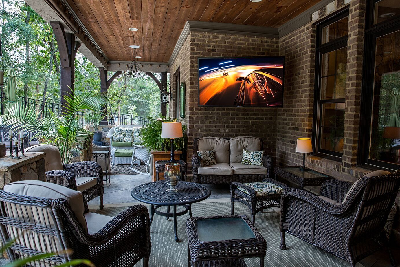 outdoor tv for patio