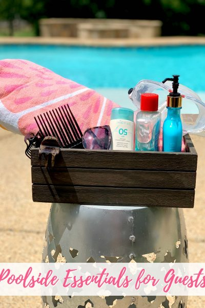 Poolside Essentials for Guests