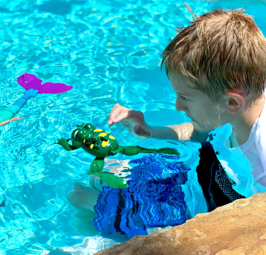 Swimming Frog Pool Toy