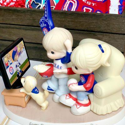 Texas Rangers Fan Gift Basket