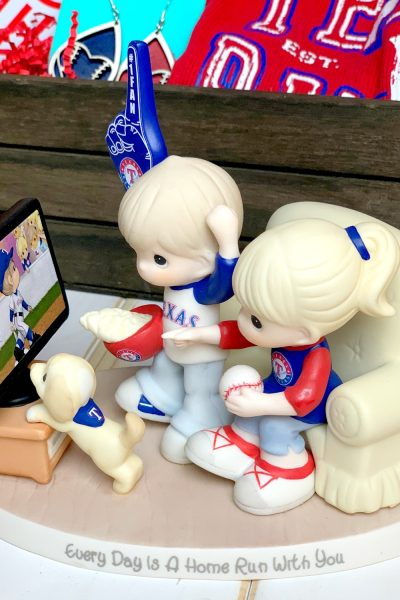 Every Day Is A home Run With You Figurine for baseball fan