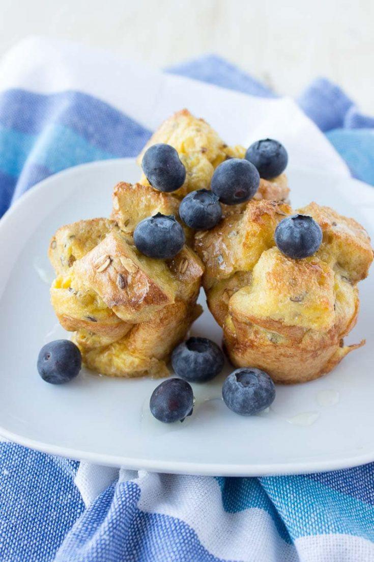 French Toast Vanilla Muffins