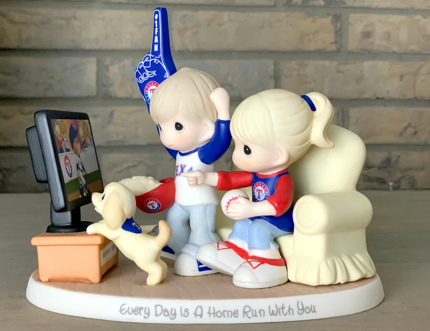 Precious Moments Texas Rangers Collectible