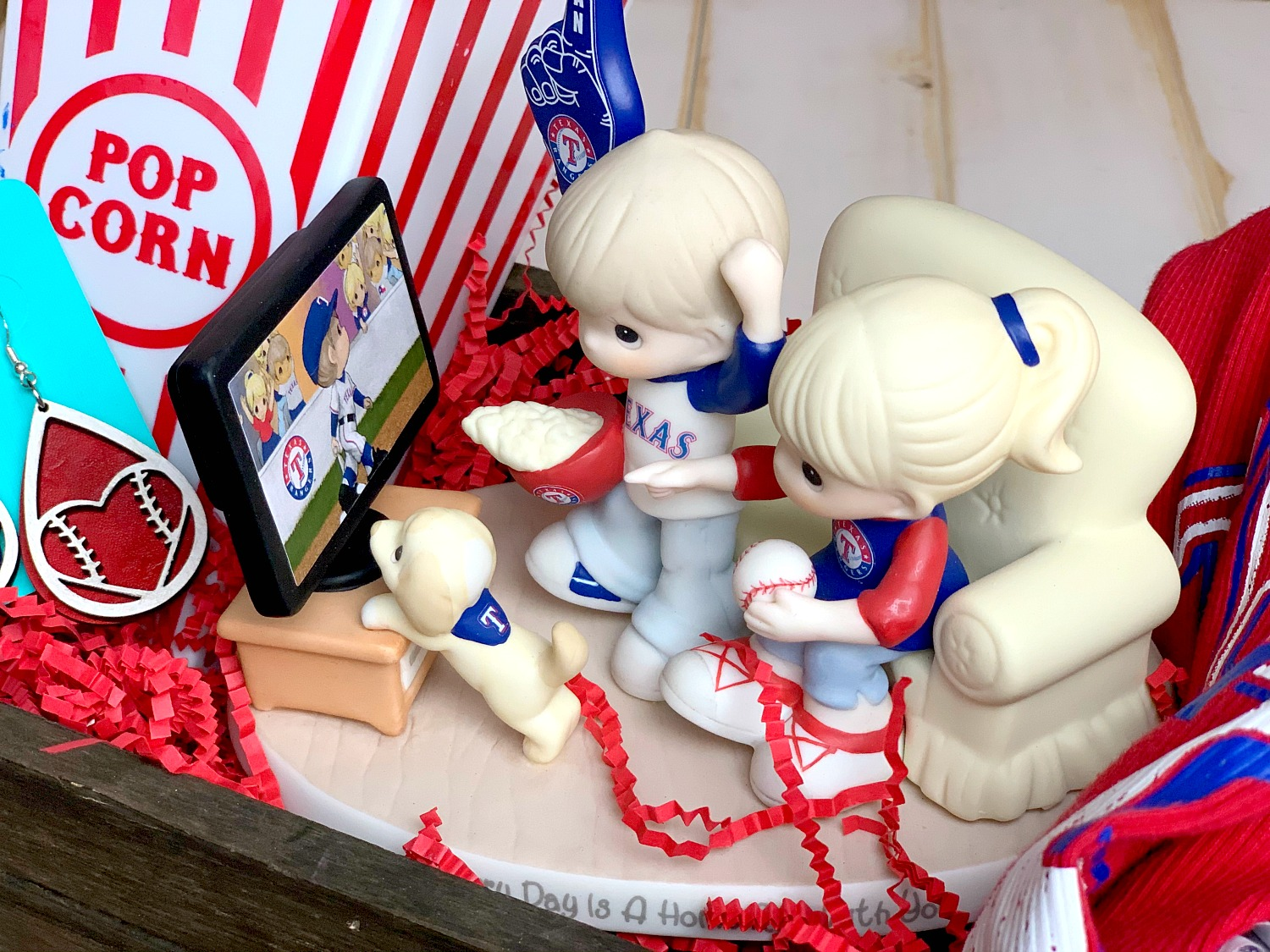 Texas Rangers Precious Moments Keepsake