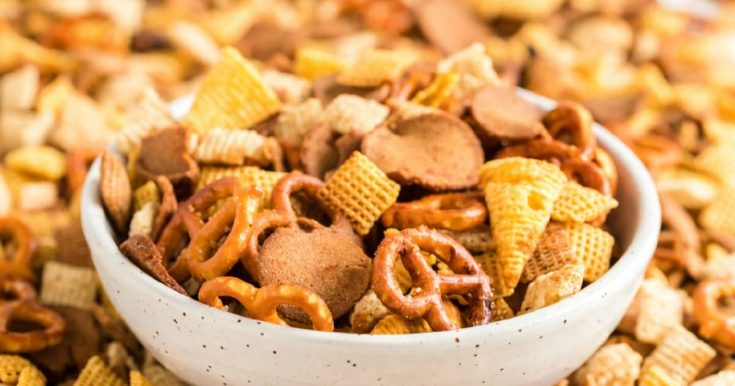 How to Make Slow Cooker Chex Mix!