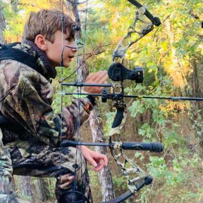 Hunting with Family: How to cope with children on their first hunt