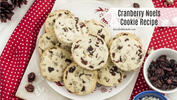 Cranberry Noels Cookie Recipe