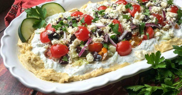 Greek 7 Layer Dip Recipe